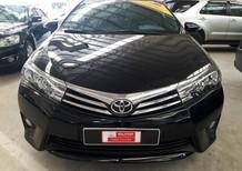 Bán xe Toyota Corolla Altis 1.8G đời 2016, màu đen xe đi ít chất lượng cam kết chính hãng