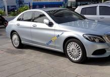 Cần bán lại xe Mercedes C250 Exclusive sản xuất năm 2015, màu bạc, nhập khẩu