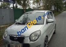 Xe Kia Morning sản xuất 2011, màu bạc xe gia đình