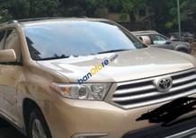 Bán xe Toyota Highlander SE 2.7 sản xuất 2010, màu vàng cát, xe nhập