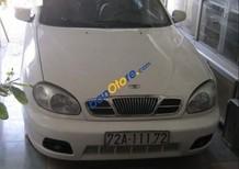 Cần bán lại xe Daewoo Lanos sản xuất 2003, màu trắng xe gia đình
