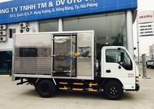 Hãng Isuzu Hải Phòng bán xe QKR 1.9 tấn thùng kín, thùng lửng, thùng phủ mui bạt