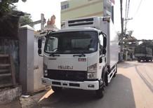 Bán xe tải Isuzu thùng đông lạnh, tải trọng 6.2 tấn thùng tiêu chuẩn châu Âu