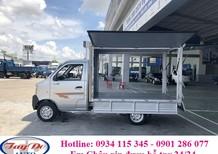 Bán xe tải Dongben 770kg thùng cánh dơi + tiện dụng + giá hợp lý + trả góp 70% + thủ tục đơn giản