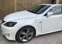 Cần bán lại xe Lexus IS model AT 2010, màu trắng
