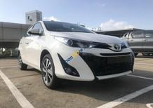 Bán xe Toyota Yaris 1.5G CVT năm sản xuất 2018, màu trắng, xe nhập