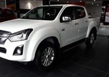 Xe Isuzu Dmax 4x2 MT sản xuất năm 2019, màu trắng, xe nhập