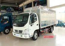 Khuyến mãi 100% trước bạ Thaco Ollin 350 New Euro 4 tải 3.5 tấn thùng dài 4,35m - Bán trả góp Tiền Giang Long An Bến Tre