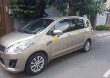 Bán Suzuki Ertiga 1.4AT sản xuất năm 2015, màu ghi vàng, xe nhập