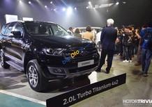 Bán Ford Everest 2.0L Titanium Biturbo model 2019, màu đen, nhập khẩu, hỗ trợ trả góp lãi suất thấp, ổn định không thay đổi