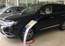 Cần bán xe Mitsubishi Outlander 2.4 Premium AT 2018, màu đen, nhập khẩu nguyên chiếc giao xe ngay không cần chờ đợi.