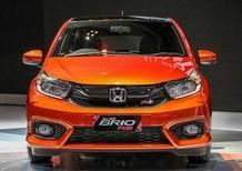 Bán Honda Brio 2019, màu cam, nhập khẩu chính hãng, quà tặng hấp dẫn