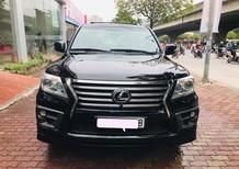 Bán Lexus LX570 sản xuất và đăng ký 2014, màu đen, xe cực mới, tên công ty, hóa đơn 2,5 tỷ