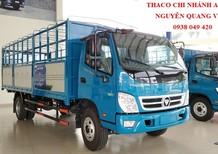 Xe tải Thaco OLLIN720 euro 4 - động cơ Weichai - tải trọng 7 tấn - thùng dài 6,2 mét - mới nhất