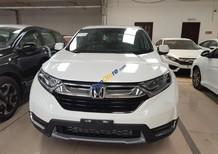 Cần bán Honda CR V sản xuất 2018, màu trắng, nhập khẩu nguyên chiếc, giá tốt