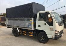 Bán Isuzu 2.5 tấn, thùng bạt, tiêu chuẩn khí thải Euro 4