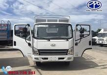 Xe tải Hyundai 8 tấn ga cơ thùng, thùng mui bạt dài 6m2