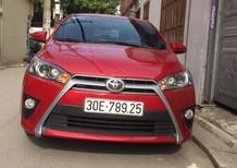 Bán ô tô Toyota Yaris G sản xuất 2017, màu đỏ, nhập khẩu chính chủ