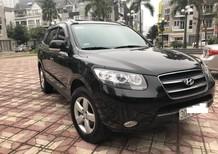 Cần bán xe Hyundai Santa Fe 2009, màu đen, biển Hà Nội cực đẹp