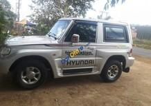 Bán xe Hyundai Galloper sản xuất 2003, màu bạc, nhập khẩu
