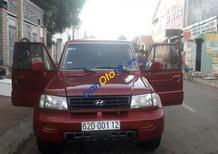 Bán Hyundai Galloper năm sản xuất 2003, màu đỏ, xe nhập, 135tr