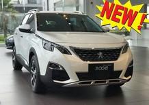 Bán xe giao có giao liền Peugeot 3008 1.6L turbo All New 2018, màu trắng - Giá tốt xin LH ngay 0909076622 P. KD