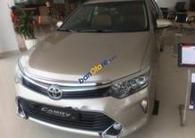 Cần bán xe Toyota Camry 2.5Q đời 2019, màu vàng, số tự động 6 cấp