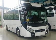 Bán Thaco Universe TB85S sản xuất 2018, màu trắng; Xe 29 chỗ mẫu mới, xe 29 chỗ Trường Hải