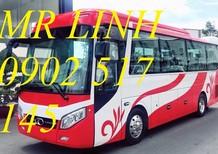 Xe khách 29 chỗ bầu hơi TB79S, xe khách 29 chỗ cao cấp, xe ô tô Thaco Trường Hải