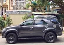 Cần bán xe Toyota Fortuner MT máy dầu 2016, màu xám