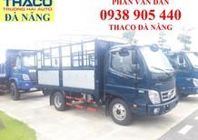 Xe tải Thaco Ollin350 tải trọng 2T2 đời mới Euro4 thùng dài 4m35. Hỗ trợ trả góp 75% lãi xuất ưu đãi