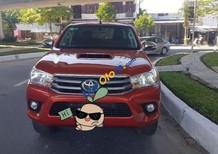 Cần bán lại xe Toyota Hilux E sản xuất 2015, màu đỏ, nhập khẩu