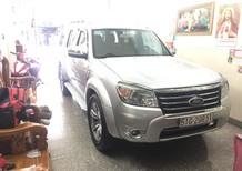 Cần bán Ford Everest AT Limited đời 2013, màu bạc, giá 500 tr
