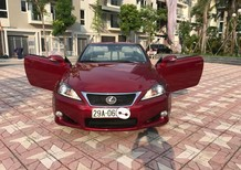 Xe Lexus IS 250C 2011, màu đỏ, nhập khẩu chính hãng
