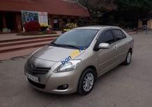 Cần bán xe cũ Toyota Vios 1.5 E năm 2011, màu vàng