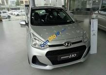 Bán xe Hyundai Grand i10 sản xuất 2019, màu bạc, xe mới