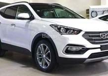 Bán Hyundai Santa Fe Thanh Hóa rẻ nhất đủ màu (máy xăng + dầu), trả góp, chỉ 300tr lấy xe, LH 0947371548