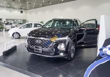 Bán xe Hyundai Santa Fe sản xuất 2019, màu đen