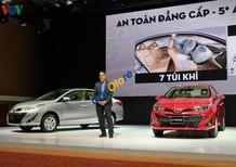 Cần bán Toyota Vios G sản xuất năm 2018, màu bạc