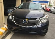 Bán xe Mazda BT 50 2.2 AT Facelift sản xuất 2018, màu xanh lam, xe nhập