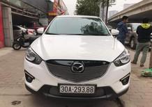 Cần bán gấp Mazda CX 5 2.0 2014, màu trắng, mới đi 4,8 vạn km