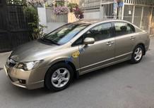 Bán xe Honda Civic 1.8 AT sản xuất 2010, màu vàng số tự động, giá 392tr