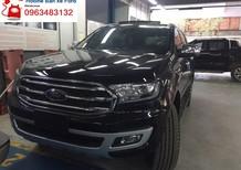 Bán xe Ford Everest Titanium 2.0L 4x2 AT màu đen - SUV 7 chỗ - máy dầu, nhập Thái Lan