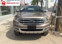 Cần bán Ford Everest Titanium 2.0L 4x2 AT 2019, màu vàng, dòng SVU 7 chỗ nhập khẩu Thái Lan