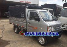 Xe tải Dongben thùng mui bạc 810kg, gía ưu đãi: 166 tr