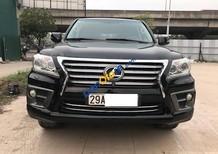 Cần bán gấp Lexus LX 570 năm 2010, màu đen, nhập khẩu nguyên chiếc
