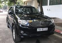 Cần bán gấp Toyota Fortuner 2.7V 4x4 AT năm sản xuất 2014, màu đen số tự động, 710 triệu