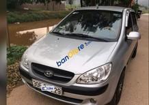 Cần bán Hyundai Getz MT sản xuất 2009, màu bạc