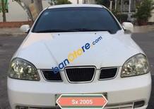 Cần bán lại xe Daewoo Lacetti MT năm 2005, màu trắng, 152 triệu