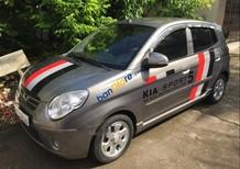 Cần bán lại xe Kia Morning đời 2009, màu xám